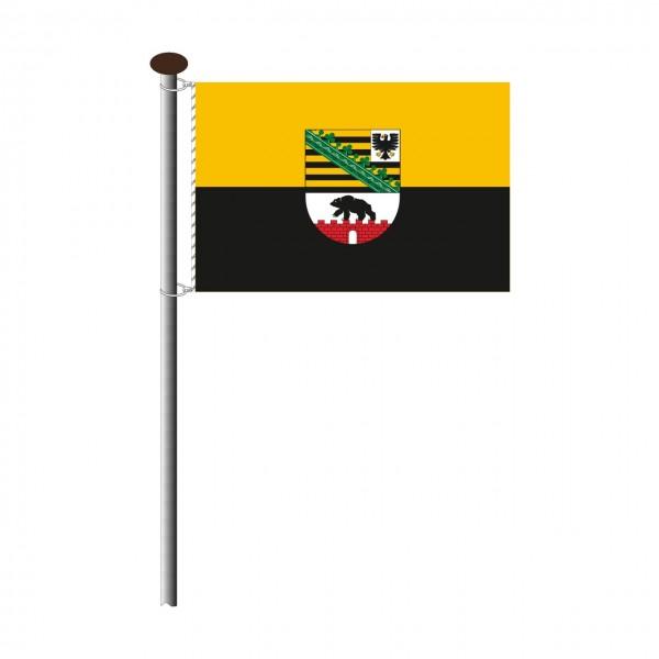 Fahne Sachsen-Anhalt Querformat