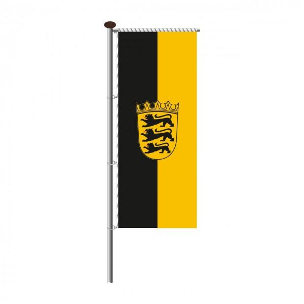 Fahne Baden Württemberg für Auslegermast