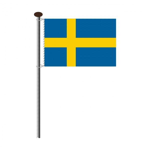 Fahne Schweden Querformat