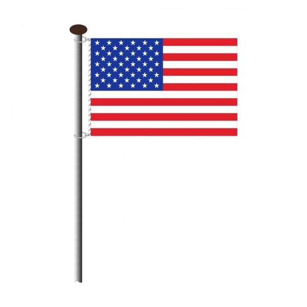 Fahne USA Querformat