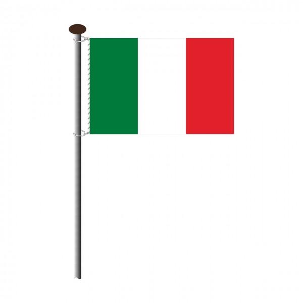 Fahne Italien im Querformat