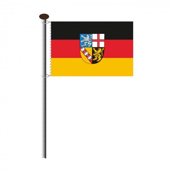 Fahne Saarland Querformat