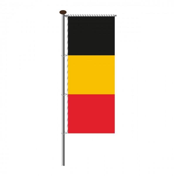 Fahne Belgien für Auslegermast