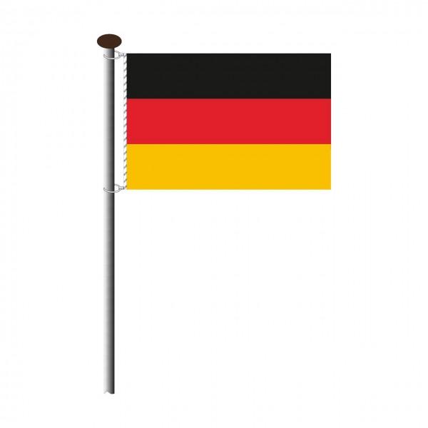Fahne Deutschland im Querformat