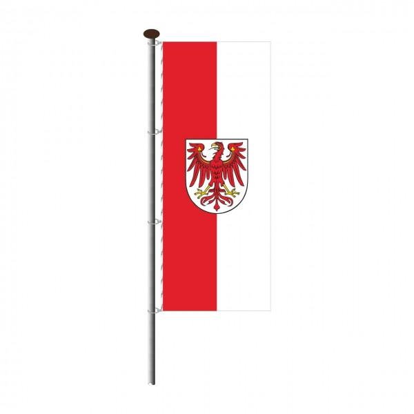 Fahne Brandenburg im Hochformat