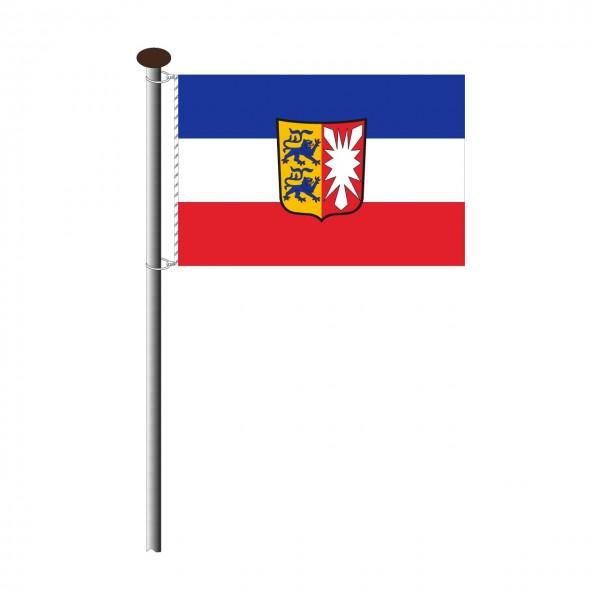 Fahne Schleswig-Holstein Querformat