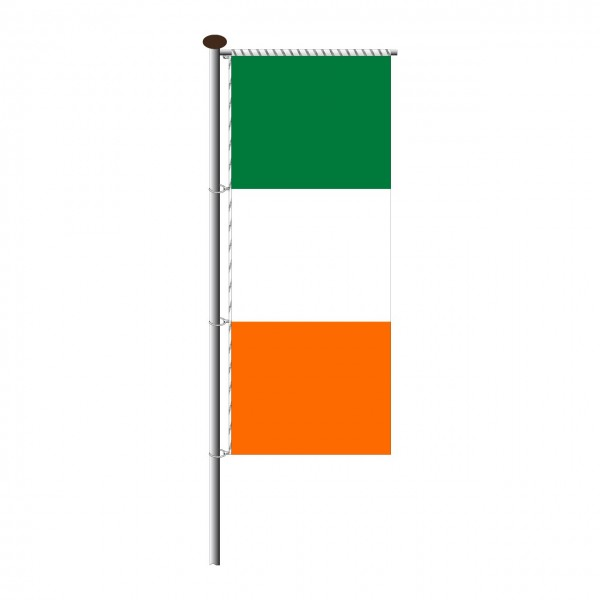 Fahne Irland für Auslegermast