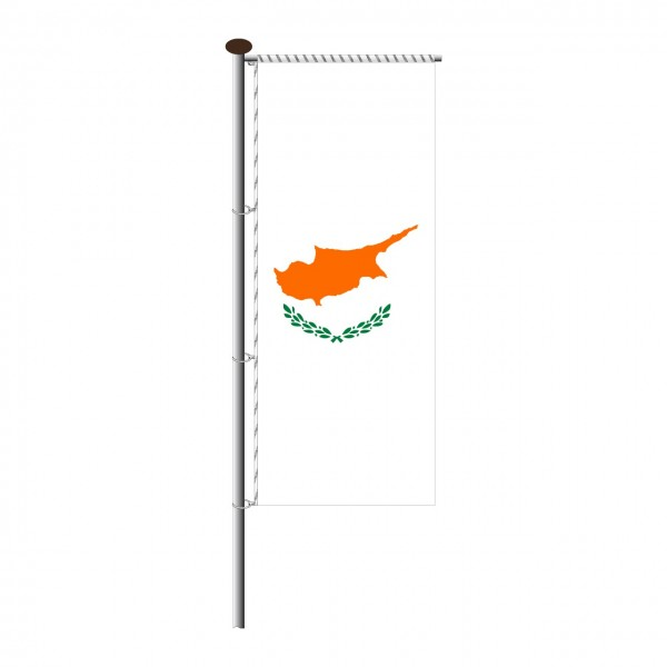 Fahne Zypern für Auslegermast