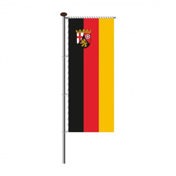 Fahne Rheinland-Pfalz für Auslegermast