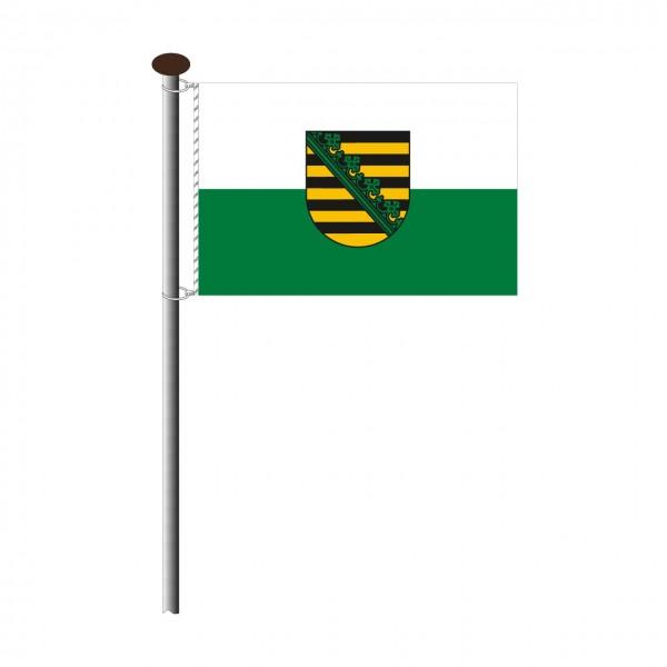 Fahne Sachsen Querformat