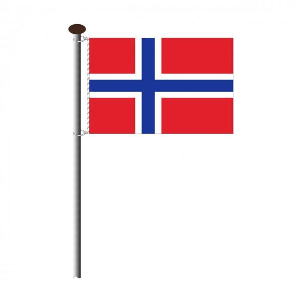 Fahne Norwegen Querformat