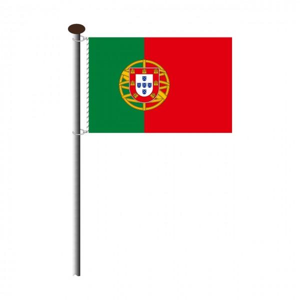 Fahne Portugal Querformat