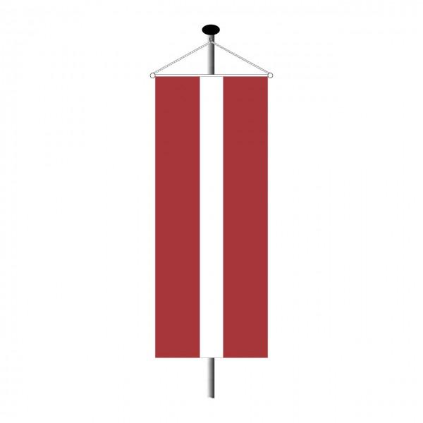 Bannerfahne Lettland