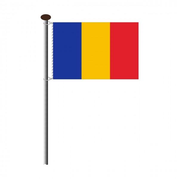 Fahne Rumänien im Querformat