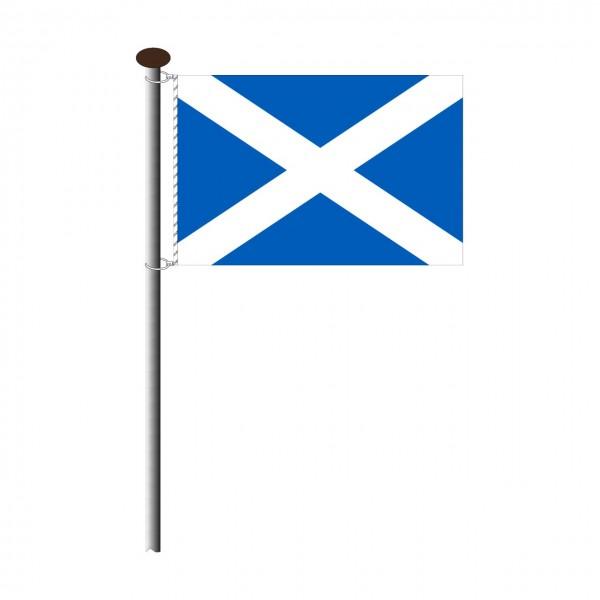 Fahne Schottland Querformat