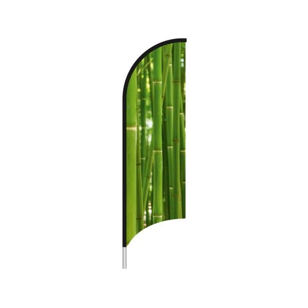 Beachflag Bali konkave Kante 90 x 336 cm
