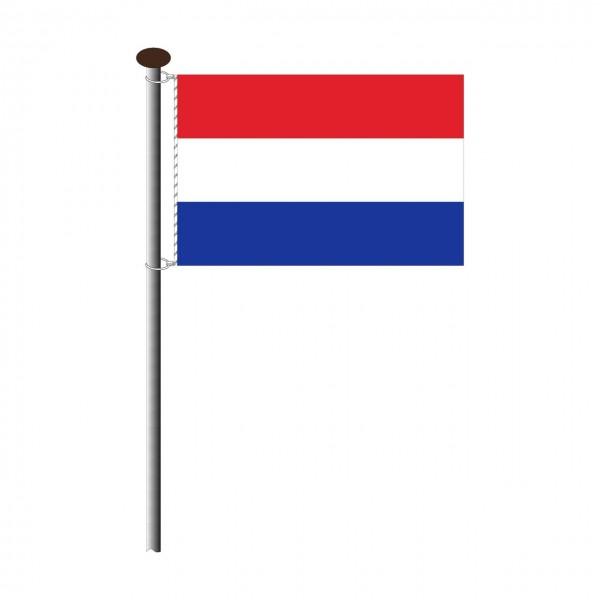Fahne Niederlande im Querformat