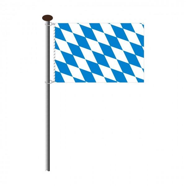 Fahne Bayern Raute Querformat