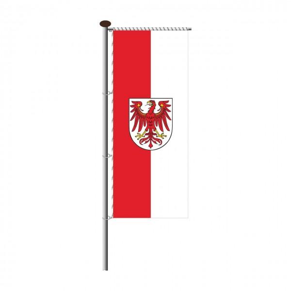 Fahne Brandenburg für Auslegermast