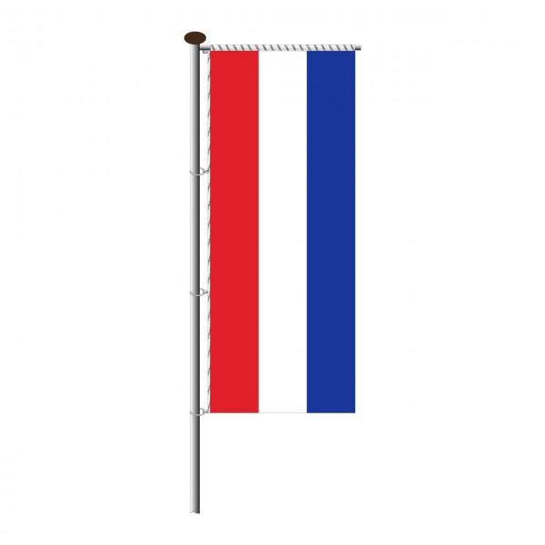 Fahne Niederlande für Auslegermast