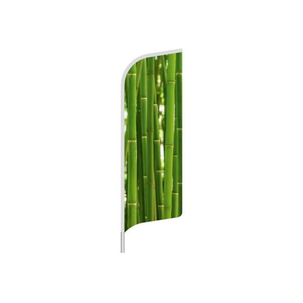 Beachflag Form Sumatra 90 x 304 cm