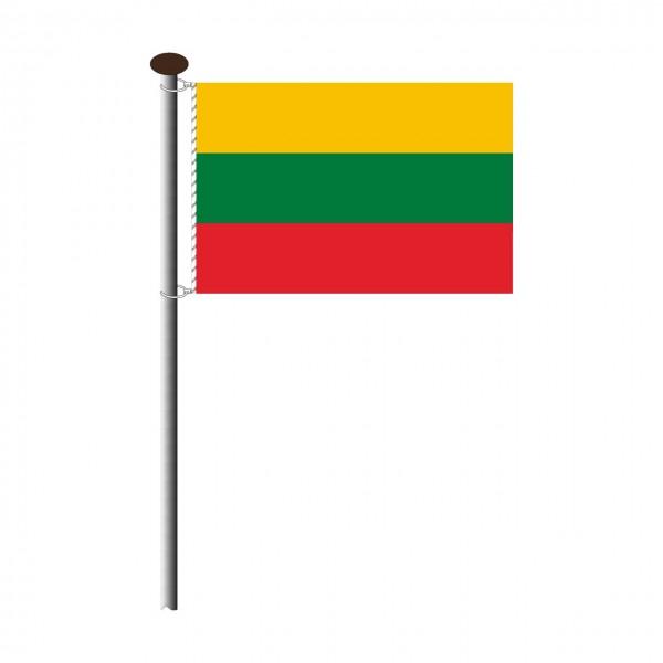 Fahne Litauen im Querformat
