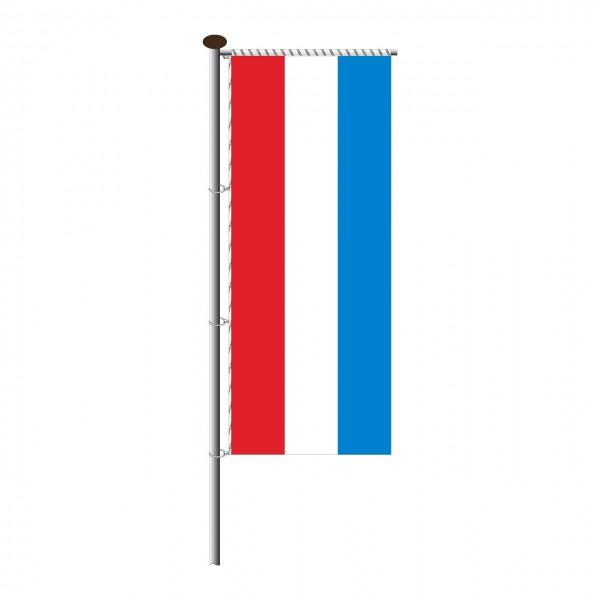 Fahne Luxemburg für Auslegermast
