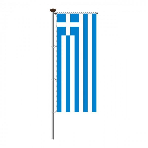 Fahne Griechenland für Auslegermast