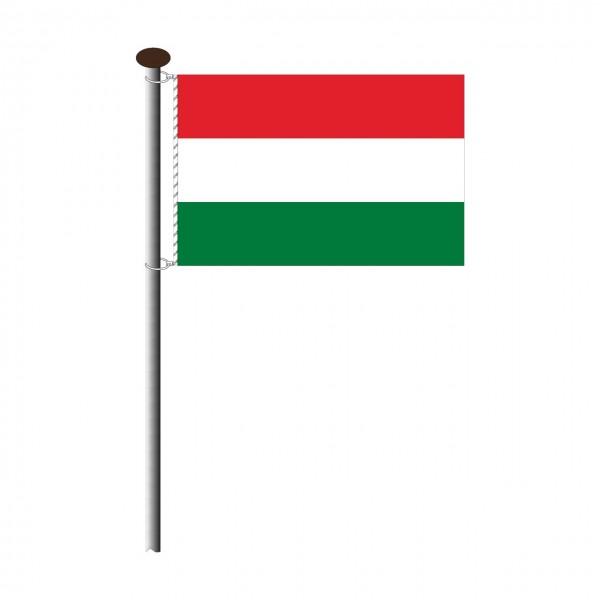 Fahne Ungarn im Querformat