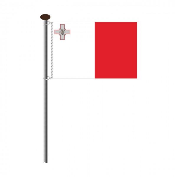 Fahne Malta Querformat