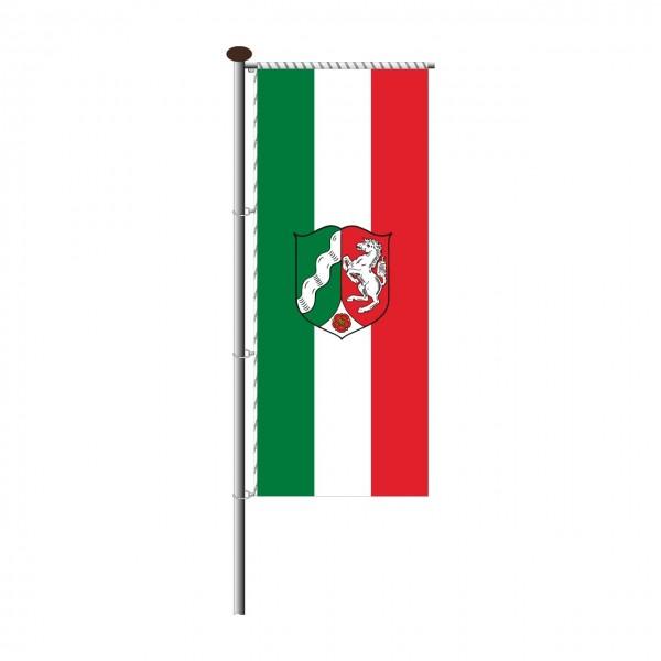 Fahne Nordrhein-Westfalen für Auslegermast