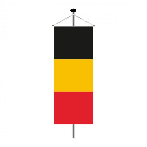 Bannerfahne Belgien