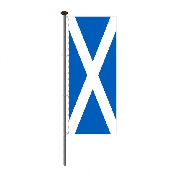 Fahne Schottland im Hochformat