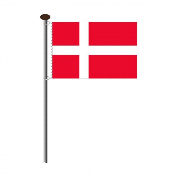 Fahne Dänemark Querformat