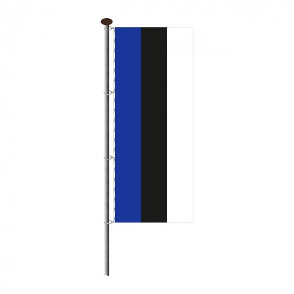 Fahne Estland im Hochformat