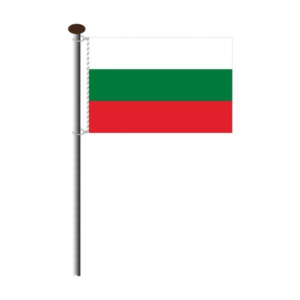 Fahne Bulgarien im Querformat