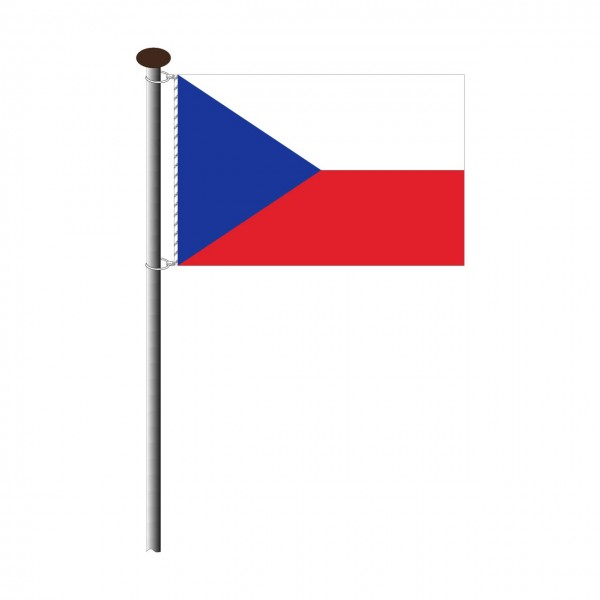 Fahne Tschechien Querformat