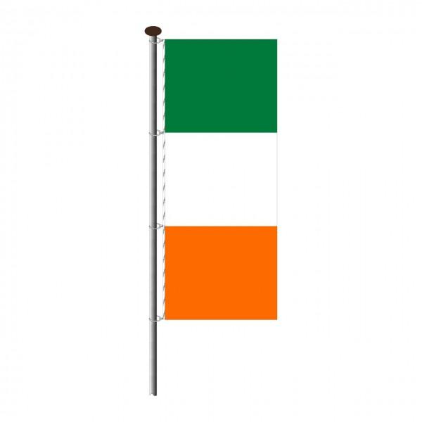 Fahne Irland im Hochformat