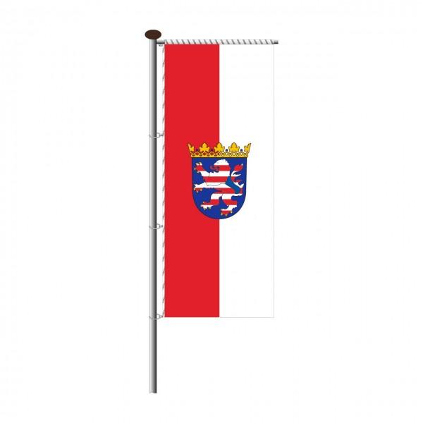 Fahne Hessen für Auslegermast