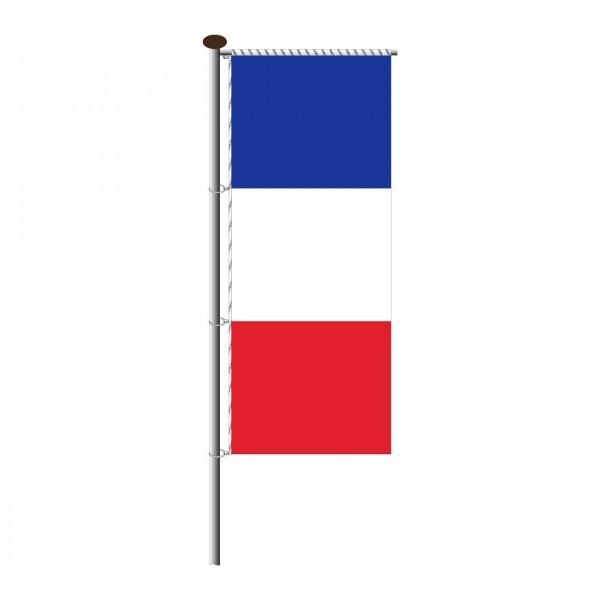 Fahne Frankreich für Auslegermast