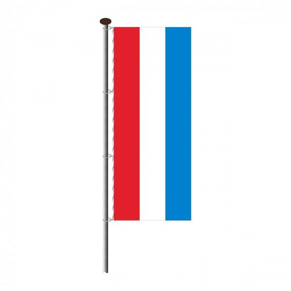 Fahne Luxemburg im Hochformat