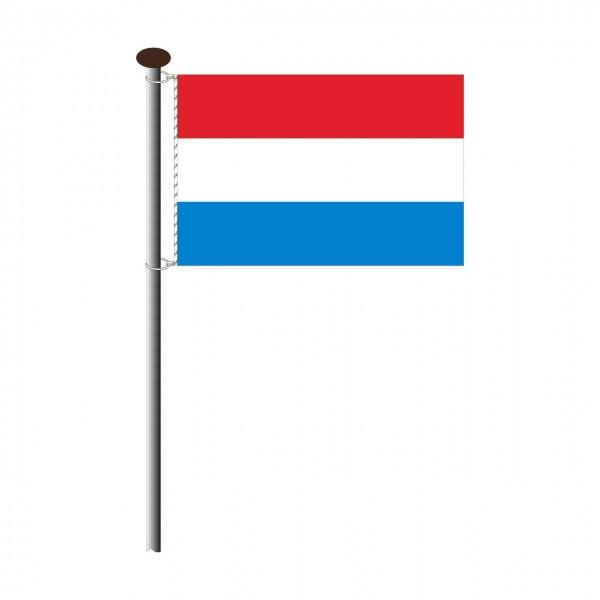 Fahne Luxemburg im Querformat