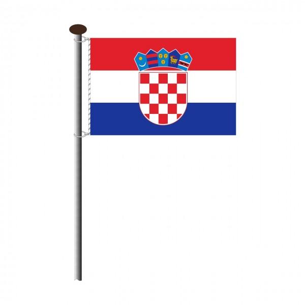 Fahne Kroatien Querformat