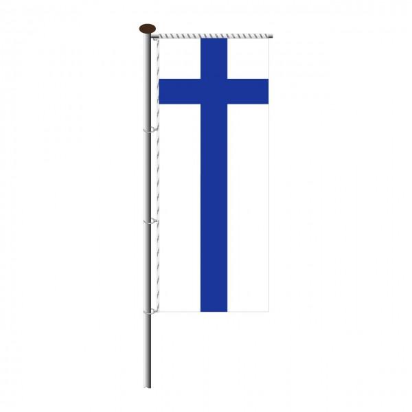 Fahne Finnland für Auslegermast