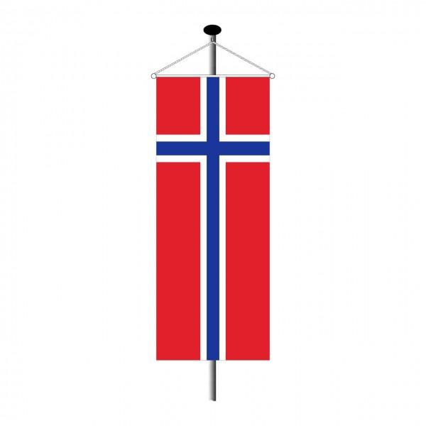 Bannerfahne Norwegen