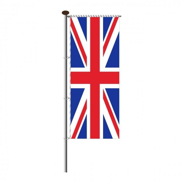 Fahne Großbritannien für Auslegermast