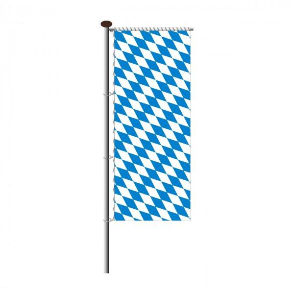 Fahne Bayern Raute für Auslegermast