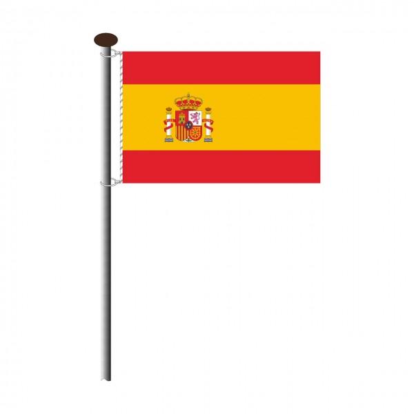 Fahne Spanien Querformat