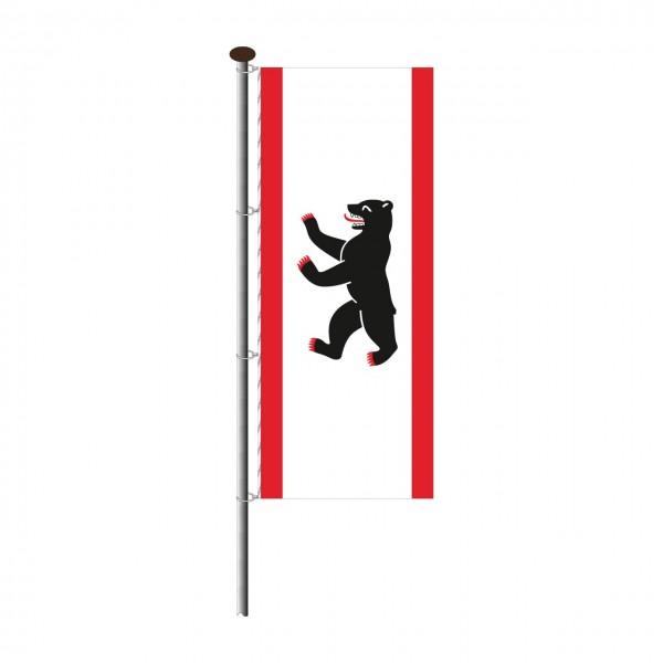 Fahne Berlin im Hochformat