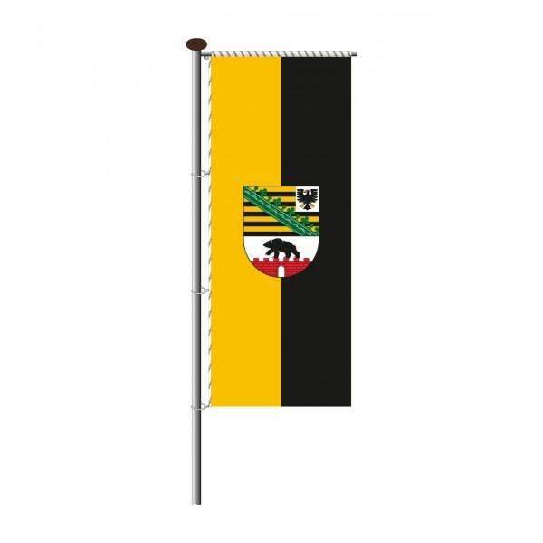 Fahne Sachsen-Anhalt für Auslegermast